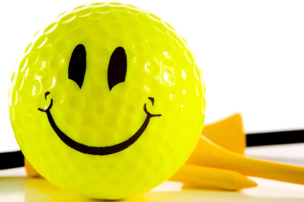 senior beginner golfer